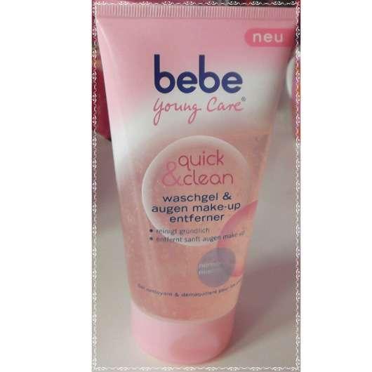 bebe Young Care quick & clean waschgel & augen make-up entferner