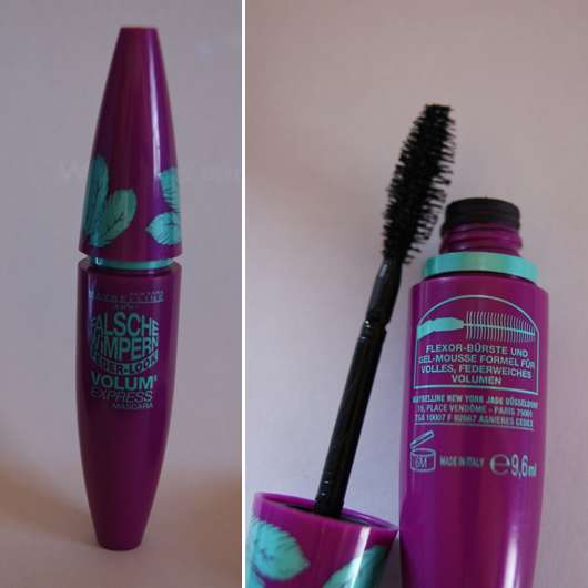 Maybelline Jade Falsche Wimpern Feder-Look Volum' Express Mascara