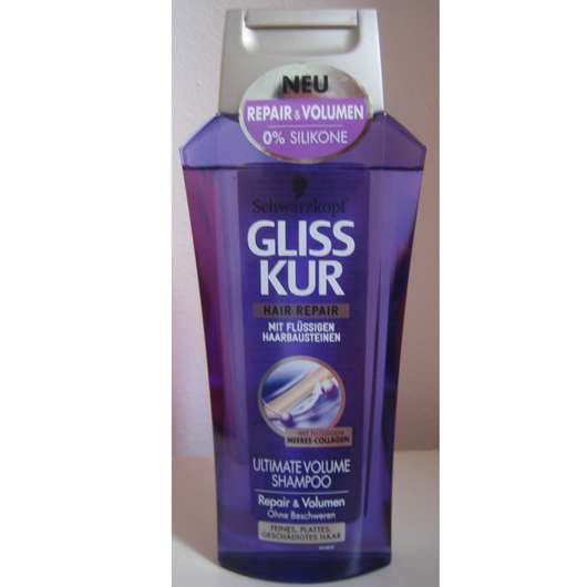 Schwarzkopf Gliss Kur Hair Repair Ultimate Volume Shampoo Repair & Volumen