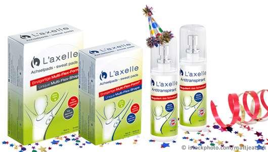3 x 1 L'axelle Frische-Geburtstagsset zu gewinnen