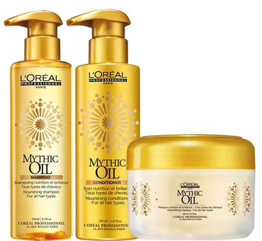 L'Oréal Professionnel Mythic Oil Shampoo & Conditioner & Maske