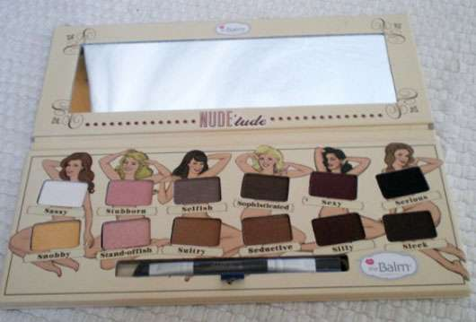 The Balm Nude 'tude Nude Eyeshadow Palette, Farbe: Feeling Naughty