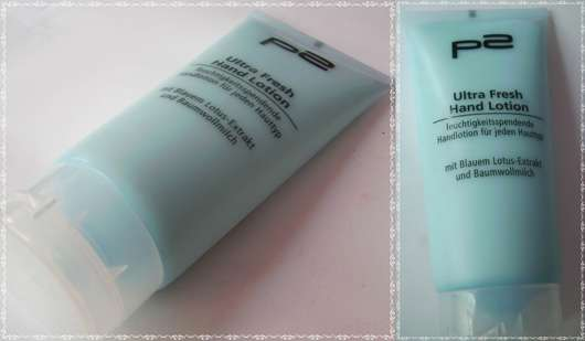 p2 Ultra Fresh Hand Lotion