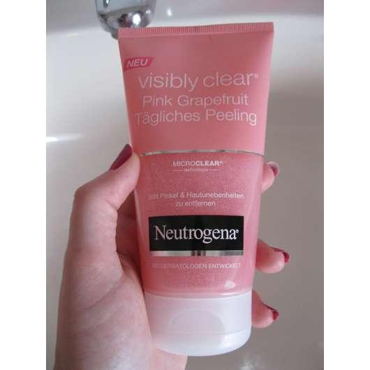 Neutrogena Visibly Clear Pink Grapefruit Tägliches Peeling