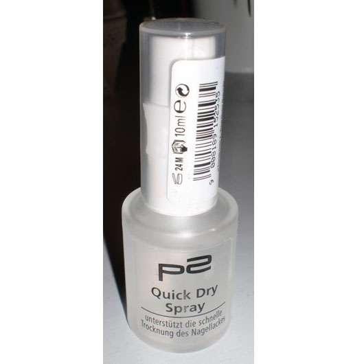 test nagellack schnelltrockner p2 quick dry spray. Black Bedroom Furniture Sets. Home Design Ideas