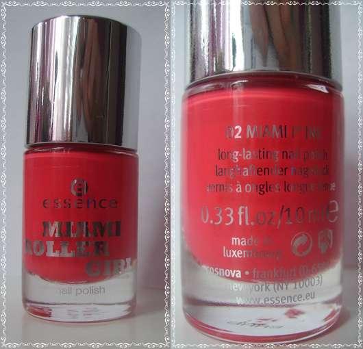 essence miami roller girl nail polish, Farbe: 02 miami p'ink (LE)