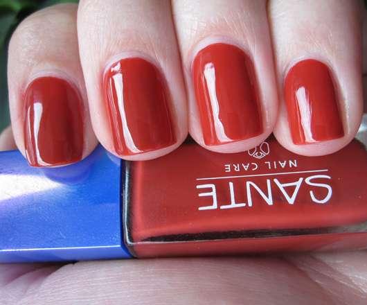 SANTE Nagellack, Farbe: 16 Warm Red