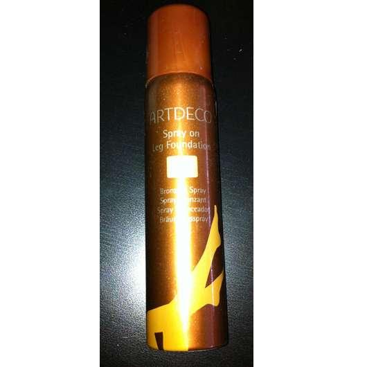 test bronzer artdeco spray on leg foundation. Black Bedroom Furniture Sets. Home Design Ideas