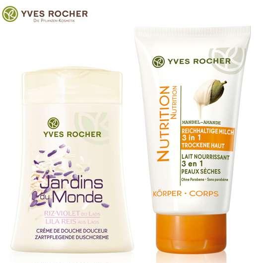 Yves Rocher Körperpflege-Innovationen für eine zart gepflegte Haut