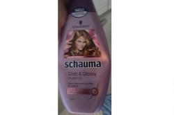 Produktbild zu Schwarzkopf Schauma Glatt & Glossy Shampoo