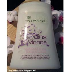 Produktbild zu Yves Rocher Jardins Du Monde Duschgel Lila Reis aus Laos