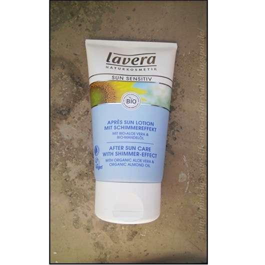 <strong>lavera Sun sensitiv</strong> Après Sun Lotion mit Schimmereffekt