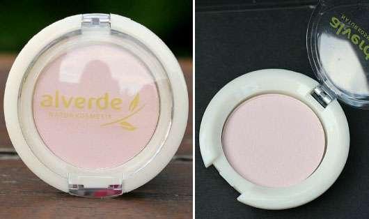 alverde Mono Lidschatten, Farbe: 10 Rosy Touch (Nude & Flash LE)