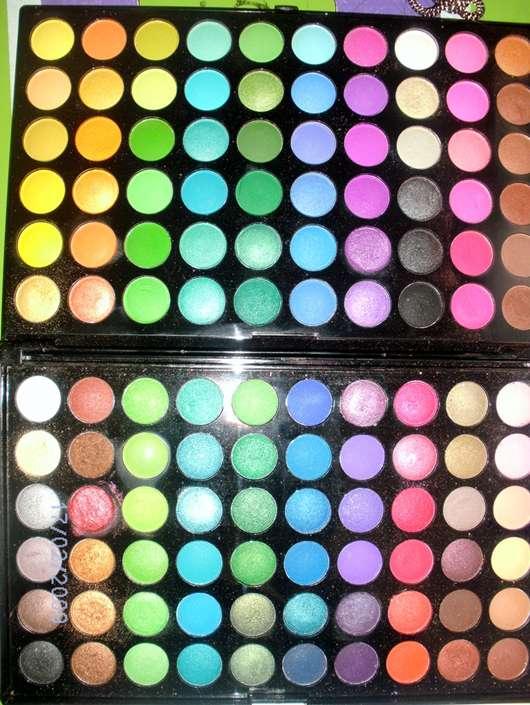 test eyeshadow bh cosmetics 120 color palette. Black Bedroom Furniture Sets. Home Design Ideas