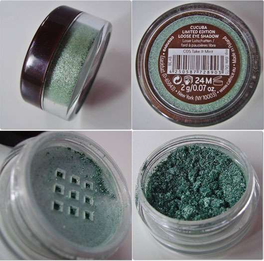 Catrice Loose Eye Shadow, Farbe: C05 Take It Mint (Cucuba LE)
