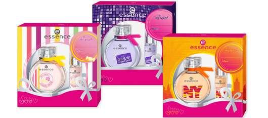 "essence ""fragrance sets"" to love!"