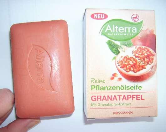 Alterra Reine Pflanzenölseife Granatapfel