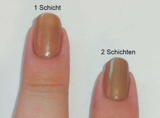 L.A. Colors Nail Lacquer With Hardeners, Farbe: Metallic Mocha