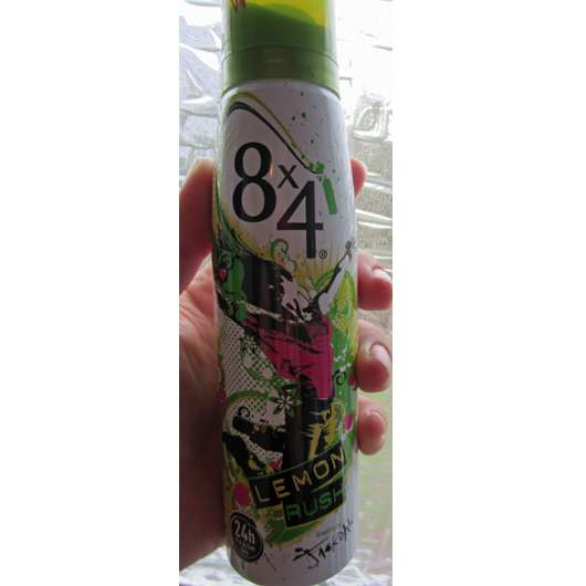 8×4 Lemon Rush Deodorant