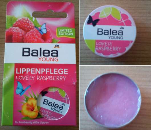 Balea Young Lippenpflege Lovely Raspberry (Limited Edition)