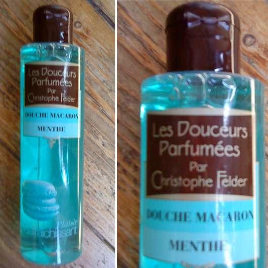Les Douceurs Parfumées Par Christophe Felder Douche Macaron Menthe