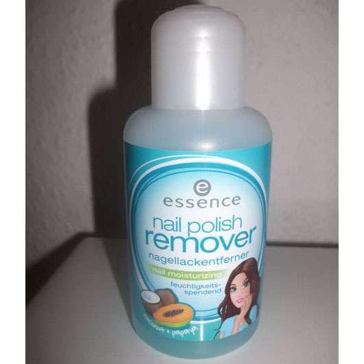 essence nail polish remover nail moisturizing (coconut & papaya)