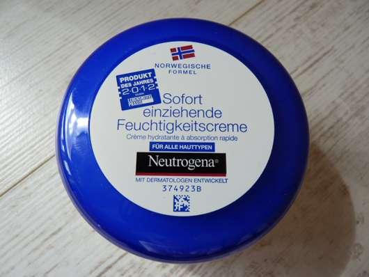 Neutrogena Norwegische Formel Sofort einziehende Feuchtigkeitscreme