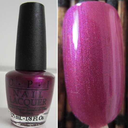Test Nagellack Opi Nail Lacquer Farbe Suzi The 7