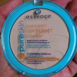 Produktbild zu essence pure skin pure teint compact powder – Farbe: 02 sand