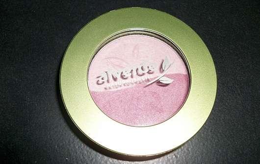 alverde Duo Lidschatten, Farbe: 35 Electric Pink