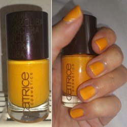 Produktbild zu Catrice Ultimate Nail Lacquer – Farbe: C01 Sunny Side (Cucuba LE)