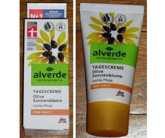 alverde Tagescreme Olive Sonnenblume (jede Haut)