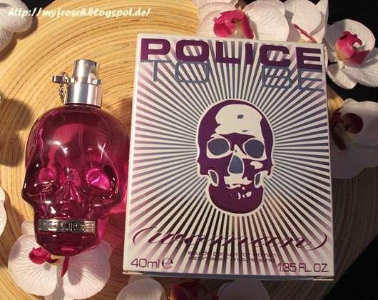test damend fte police to be woman eau de parfum testbericht von myone. Black Bedroom Furniture Sets. Home Design Ideas