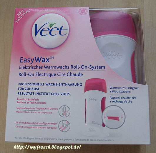 Veet EasyWax Elektrisches Warmwachs Roll-On System