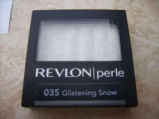 REVLON Luxurious Color Perle Mono Eye Shadow, Farbe: 035 Glistening Snow