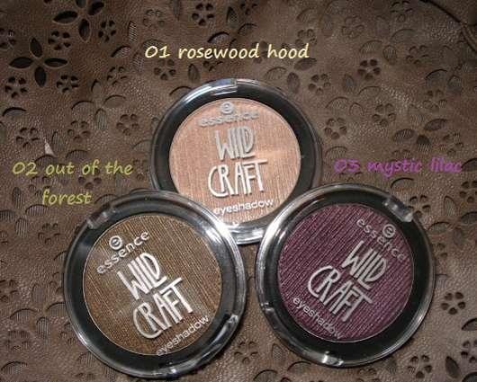 essence wild craft eyeshadows (LE)