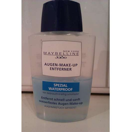 Maybelline Jade Augen-Make-Up-Entferner Spezial Waterproof