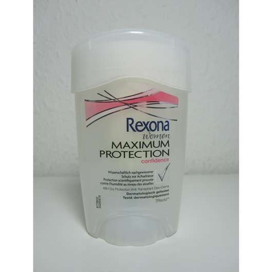 "Rexona Women Maximum Protection ""Confidence"" 48h Dry Protection Anti-Transpirant Deo-Creme"