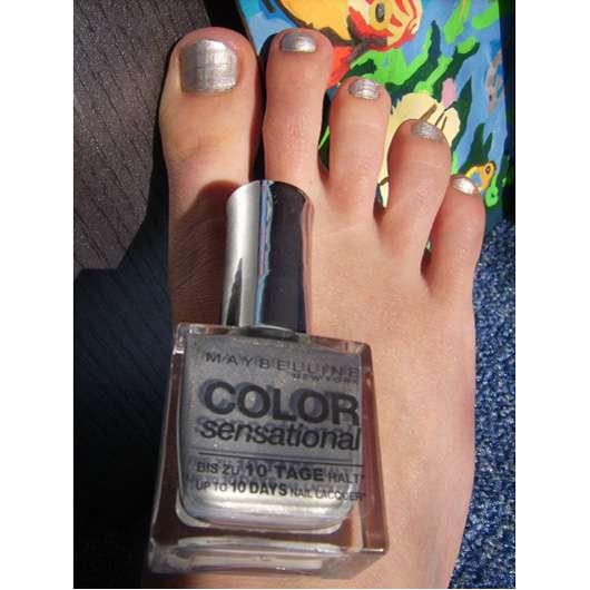 Maybelline Color Sensational Nail Lacquer, Farbe: 330 Silver Star