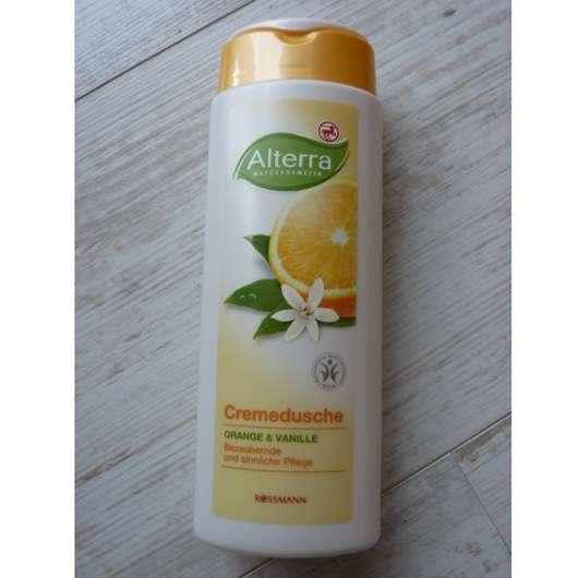 Alterra Cremedusche Orange & Vanille