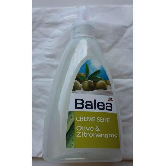 test fl ssigseife balea creme seife olive zitronengras testbericht von schminkelfe. Black Bedroom Furniture Sets. Home Design Ideas