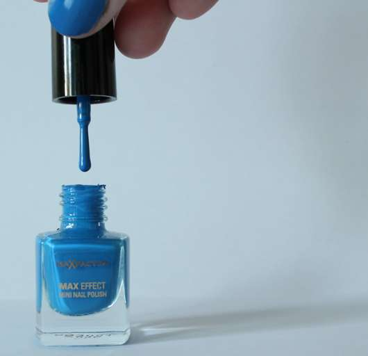 Max Factor Max Effect Mini Nail Polish, Farbe: 35 Candy Blue