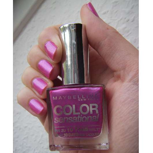 Maybelline Color Sensational Nail Lacquer, Farbe: 230 Metallic Mauve