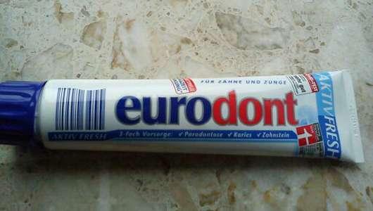 <strong>eurodont</strong> Aktiv Fresh Zahncreme