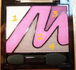 Produktbild zu MANHATTAN Eyemazing Eyeshadow – Farbe: 3 (Flitter Belle LE)