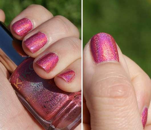 KIKO holographic nail lacquer, Farbe: Jewel Pink (Lavish Oriental LE)