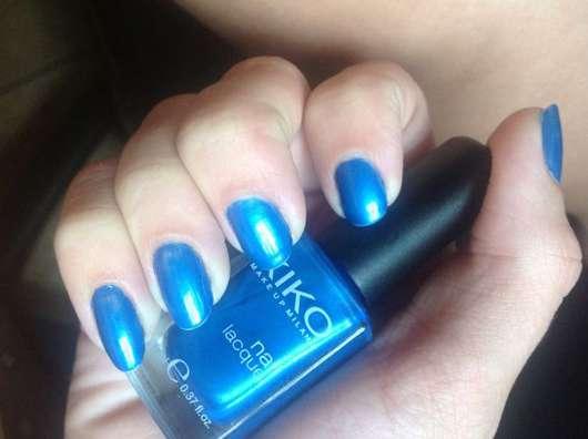test nagellack kiko nail lacquer farbe 267 sky blue testbericht von guardevoir. Black Bedroom Furniture Sets. Home Design Ideas