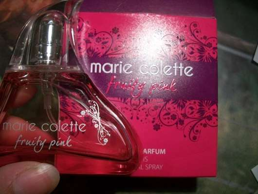 test damend fte marie colette fruity pink eau de parfum testbericht von sweety. Black Bedroom Furniture Sets. Home Design Ideas