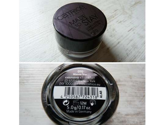 Catrice Made to Stay Longlasting Eyeshadow, Farbe: 070 Mauvie Star