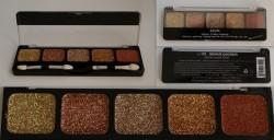 Produktbild zu NYX Glitter Cream Palette – Farbe: 09 Bronze Goddess
